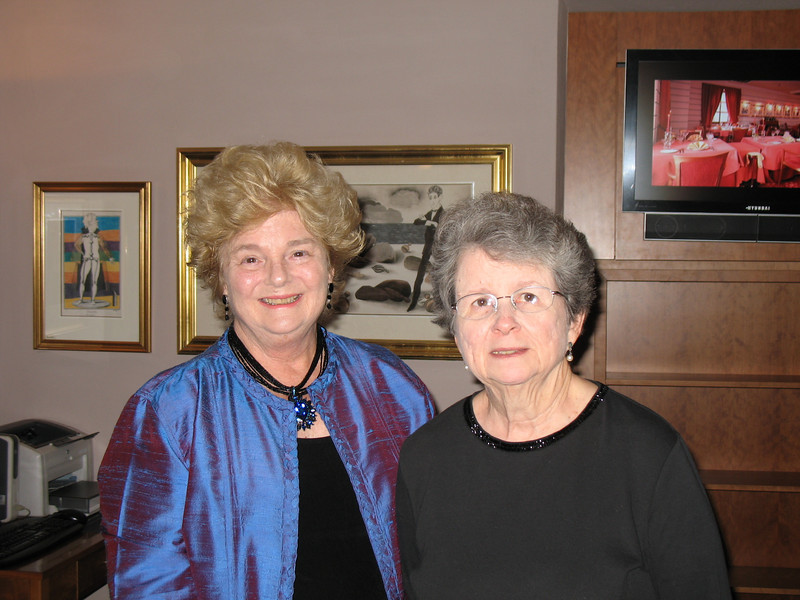 Judith and Jean (Hoffmeister Lobby)