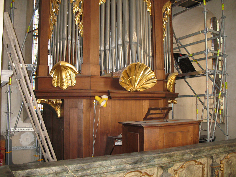 Organ in the All Saints' Chapel