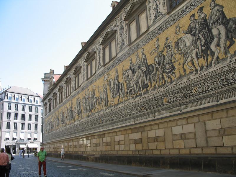 The Furstenzug - The Saxon Sovereigns