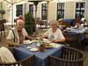 Courtyard of the Intermezzo Restaurant -<br />  Hotel Taschenbergpalais Kempinski - Dresden
