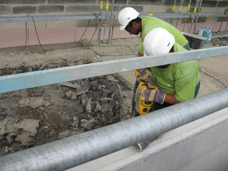 Repairs on the Charles Bridge
