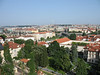 View of city from Prague Castle