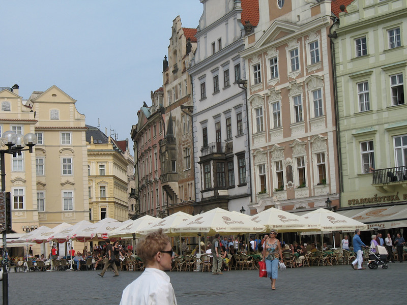 Outdoor restaurant - Old Town Square