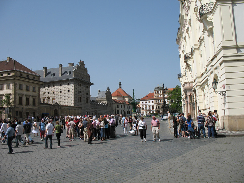 Courtyard Prague Castle