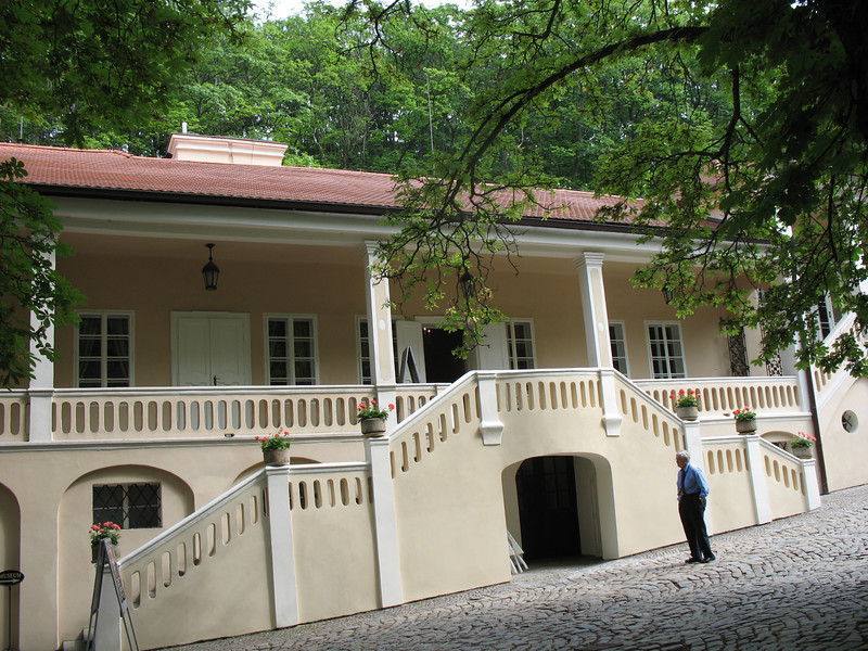 Dusek House where Mozart stayed