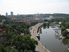 Marina as seen from the Vysehrad Fortress