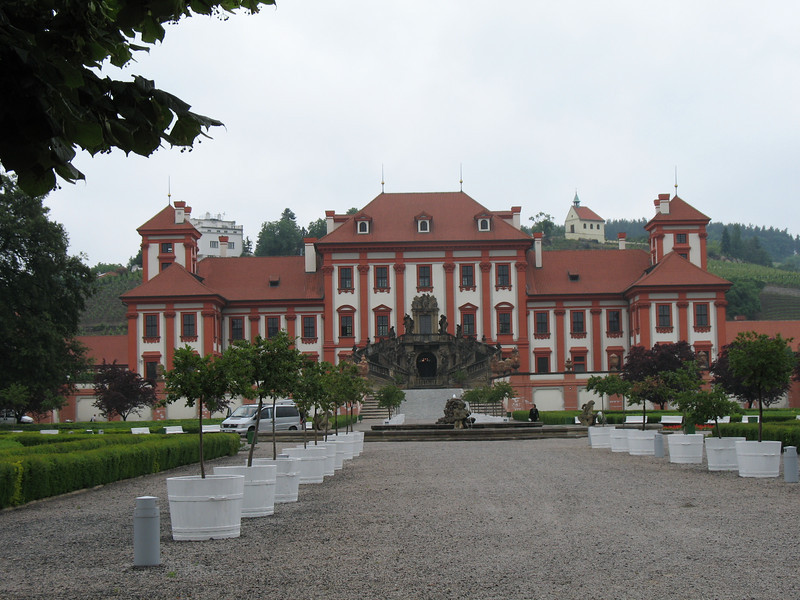 The Troja Chateau (now an art gallery)<br /> (June 4, 2008)