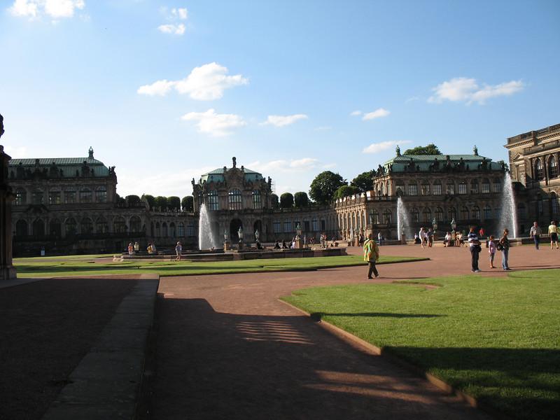 Fountain in the Zwinger Courtyard - Dresden
