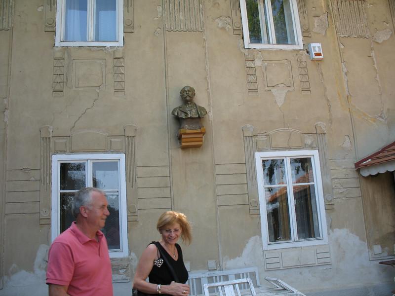 Emil & Jirina at Antonin Dvorak's country house