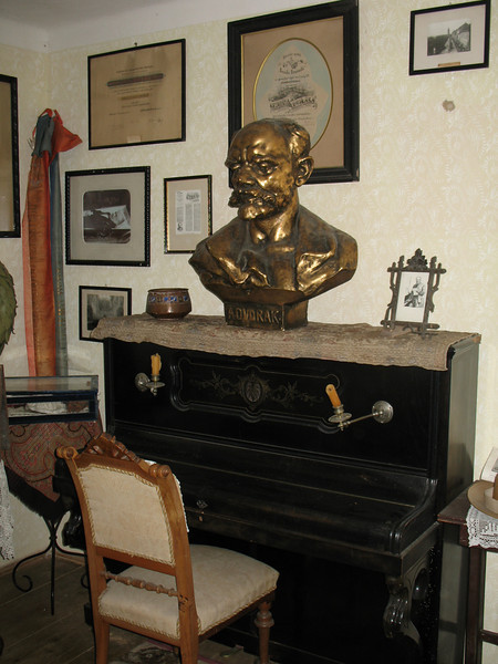 Antonin's Piano and Bust