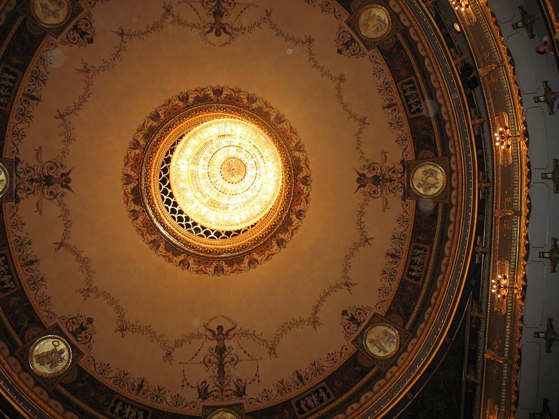 Ceiling of the Estate Theatre
