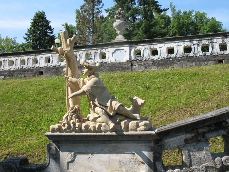 Grounds - Cesky Krumlov Castle/Chateau<br /> (June 1, 2008)