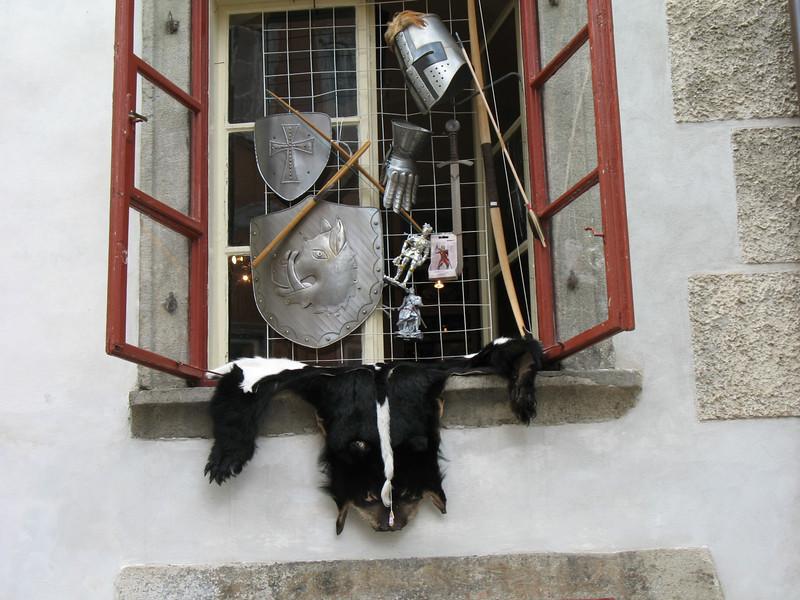 Shop window (Cesky Krumlov)
