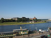 Tourist Boat on the Elbe River