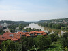 View of Vltava River from the Vysehrad fortress<br /> (June 2, 2008)