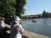 Charles Bridge over the Vltava