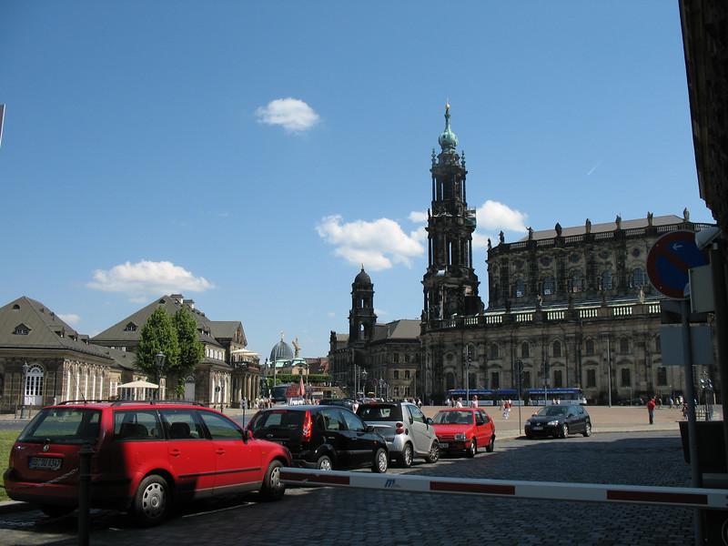 Street scene Dresden