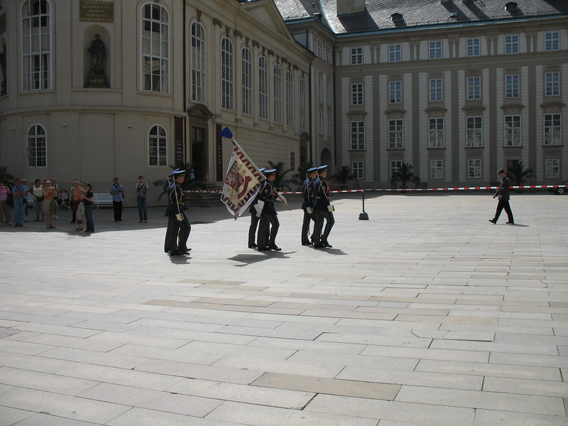Changing of the Guard-Prague Castle