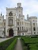 Entrance Hluboka Chateau