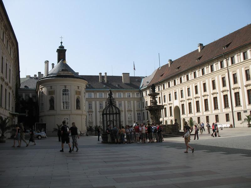 Courtyard - Prague Castle