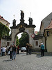 Gate at the Strahov Monastery - Prague