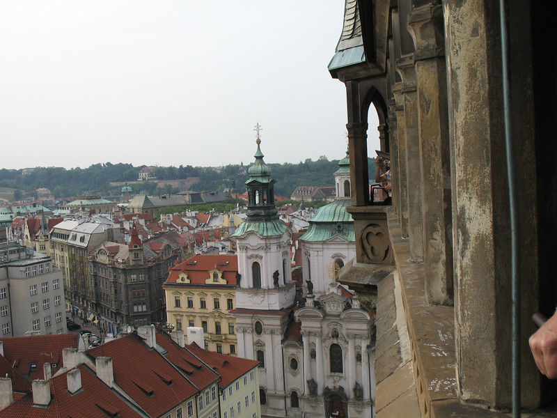 Top of Old Town Hall