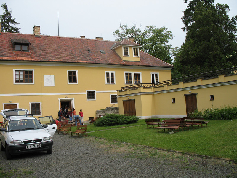 Smetana's home in the Village of Jabkenice<br /> (May 29, 2008)