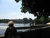 Locks around the falls of the Vltava