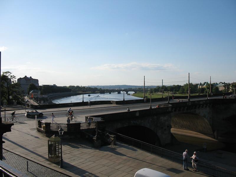 Bridge over the Elbe River - Dresden