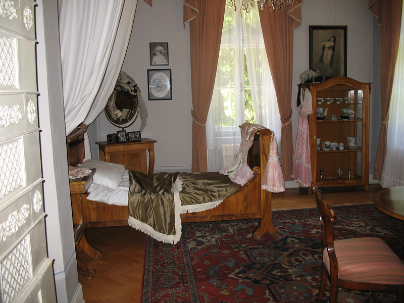 Bedroom at the museum
