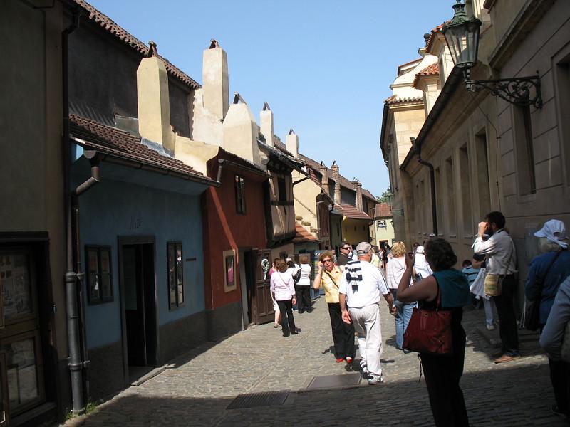 Shops on Golden Lane - Prague Castle