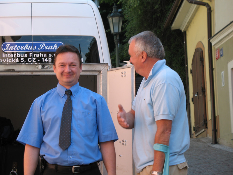 Peter (our driver) and Emil