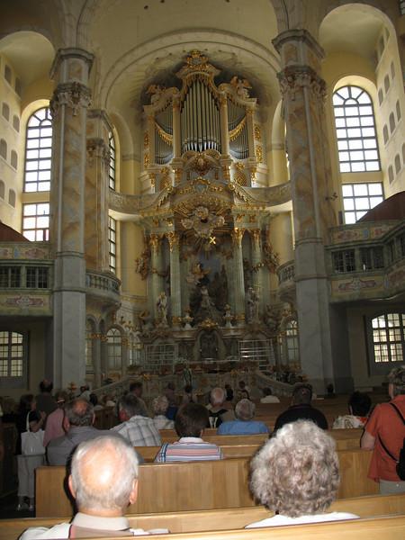 Interior of the Fraunkirche - Dresden