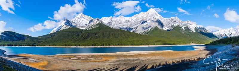 Mount Turbulent @ Spray Lakes Reservoir