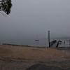 St Helens in the misty morning rain