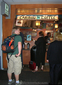 Caribou Coffee at Minneapolis-St. Paul Airport