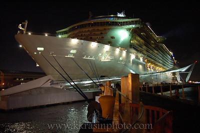 The ship from San Juan