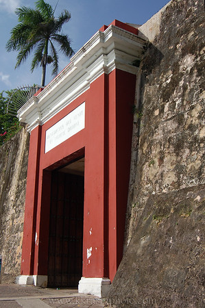 The entrance to Old San Juan