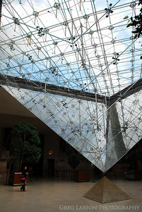 Inverted Pyramid - Louvre , Paris, France, Europe