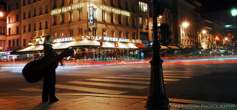 City Blur, Paris, France.