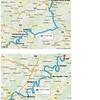 Wine Day 12 Map - Trier- Mertesdorf-Bernkastel Kues- Zell - Boppard - 10/9/2015