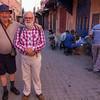 Marrakech medina walk