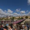 Big Bus city tour - Love lock bridge no more