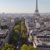 Arc de Triomphe view
