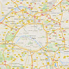 Paris overview map - 21/9/2015