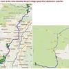 Wine Day 10 Map - Mittelwihr- Kaysersberg- Bergheim- Mittelbergheim- Westhoffen- Hunspach- Wissembourg - 8/9/2015
