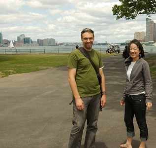 Photos of two prisoners that escaped and eloped.  Dan and keiko