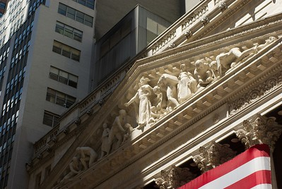Walked by Wall Street, this is actually the only photo I have take of it.  Need to come back.