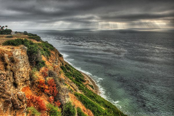 Palos Verdes, California HDR (High Dynamic Range) Composite