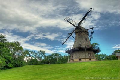 Fabyan Windmill, Geneva, IL HDR